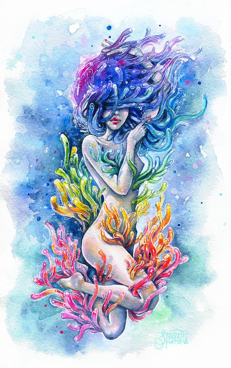 'Aura' by Tanya Shatseva   Original available - http://tanyashatseva.bigcartel.com/product/aura-polyps