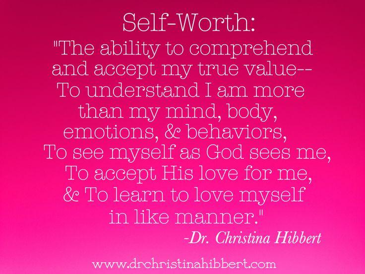 definition of self esteem in psychology pdf