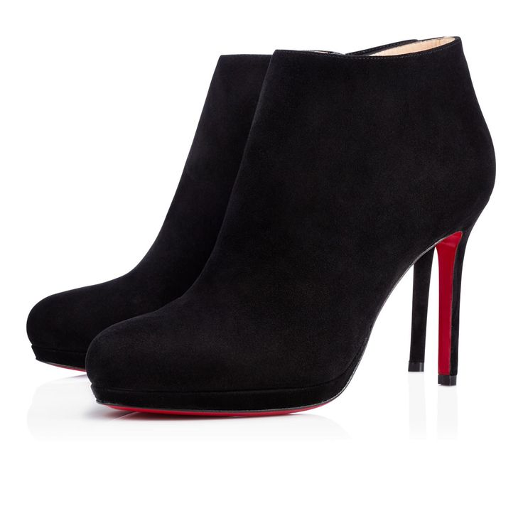 Bella Top Suade Christian Louboutin shoe boots. I have to have these in my life. <3