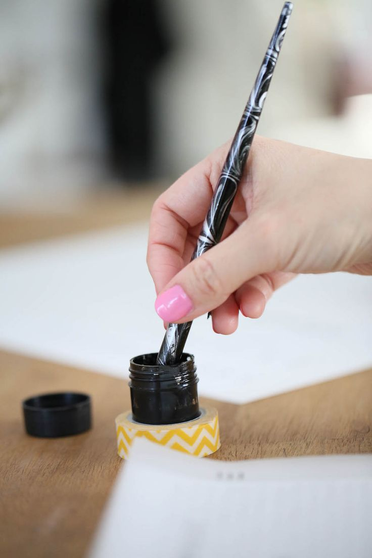 How to Do Faux (fake) Calligraphy in 5 EASY Steps (2019 ...