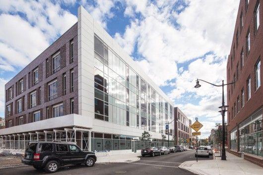 230 Halsey Street  in Newark, New York, by Richard Meier & Partners
