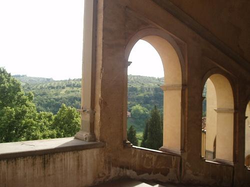 scalinata della certosa del galluzzo by 1la, via Flickr