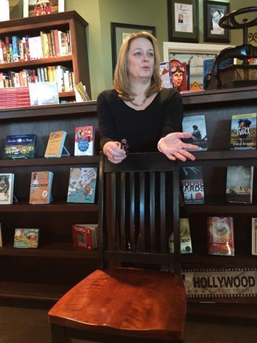 Kristin Hannah discusses her new novel Nightingale at Fox Tale Book Shoppe.