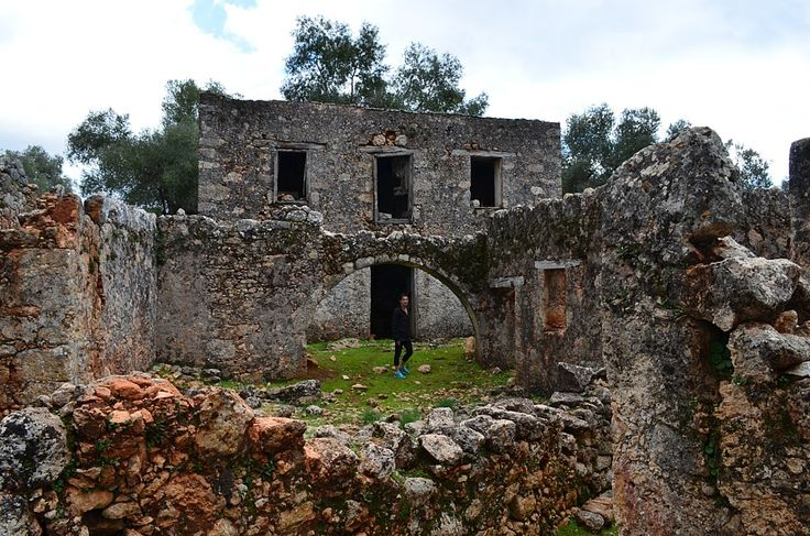 The deserted village of Aradena.
