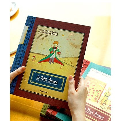 fallindesign.com - Little prince memory slide self adhesive photo album - red, (http://www.fallindesign.com/little-prince-memory-slide-self-adhesive-photo-album-red/)