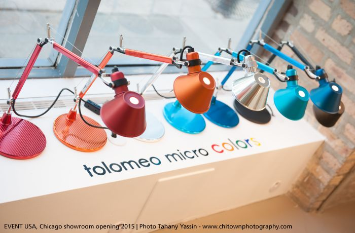 The nice and colorful ‪#‎Tolomeo‬ Micro table lamps. ‪#‎design‬ Michele De Lucchi & Giancarlo Fassina