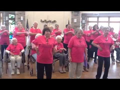 "One of the Senior Villages I work for made this video!  Gangnam ""Senior Style"" Village of East Harbor on You Tube"