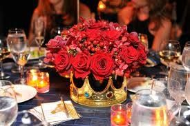 Crown centerpiece - Royal theme