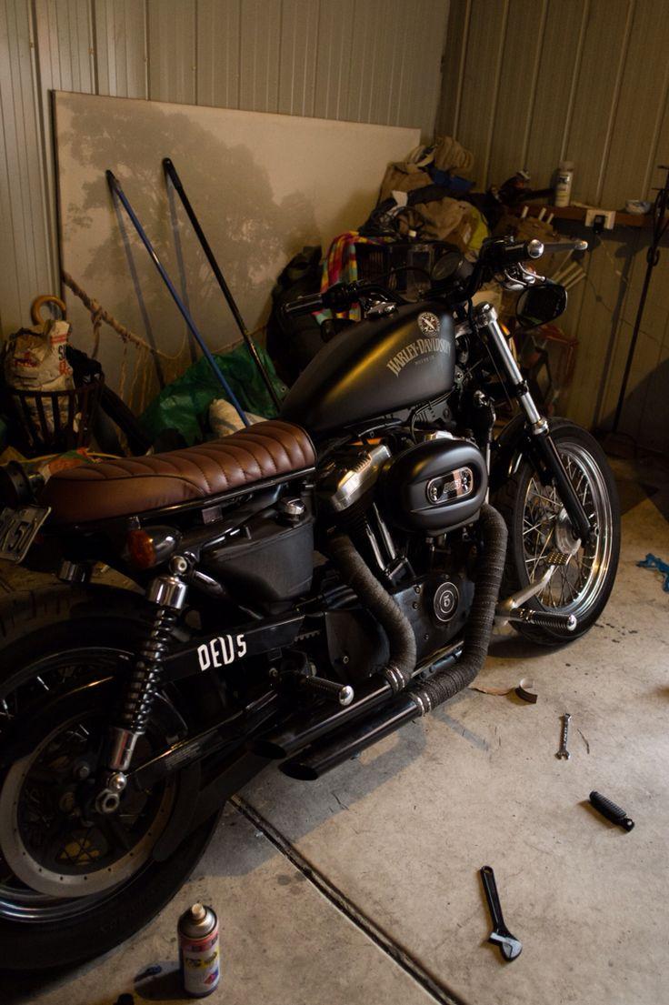 A linda do papai. Harley Davidson Sportster 883