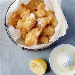 Chunky cod goujons in coconut batter Recipe | delicious. Magazine free recipes