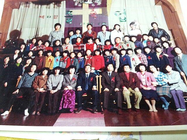 22회 군산해망동교회 주일학교 졸업식