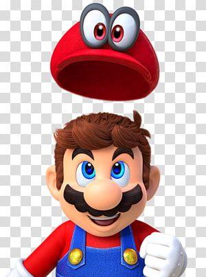 Super Mario Illustration Super Mario Odyssey Super Mario 64 Super Mario Sunshine Princess Peach Super Mario Transparent Background Em 2021 Aniversario Canecas Jogos