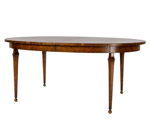 1940's English Burlwood dining room table