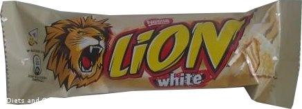 Nestle Lion White Bar
