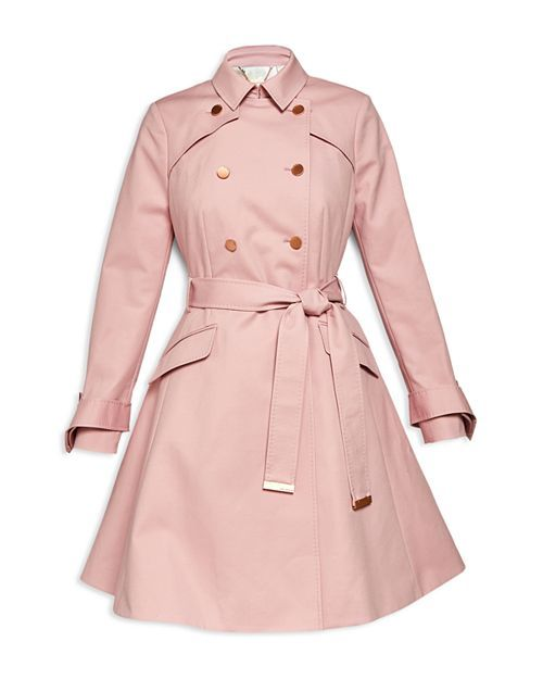 5e1d8db07 Ted Baker - Marrian Flared Trench Coat