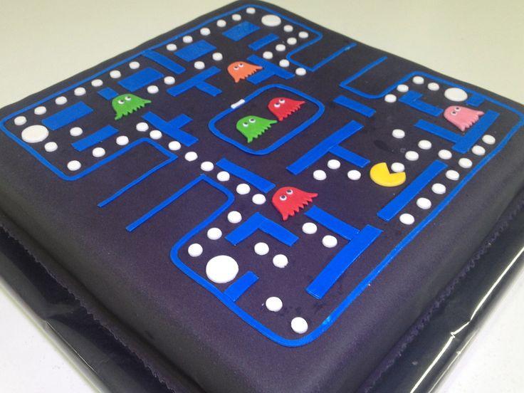 Torta Pacman de Pastelería dCondorelli  - www.dcondorelli.cl - Santiago, Chile