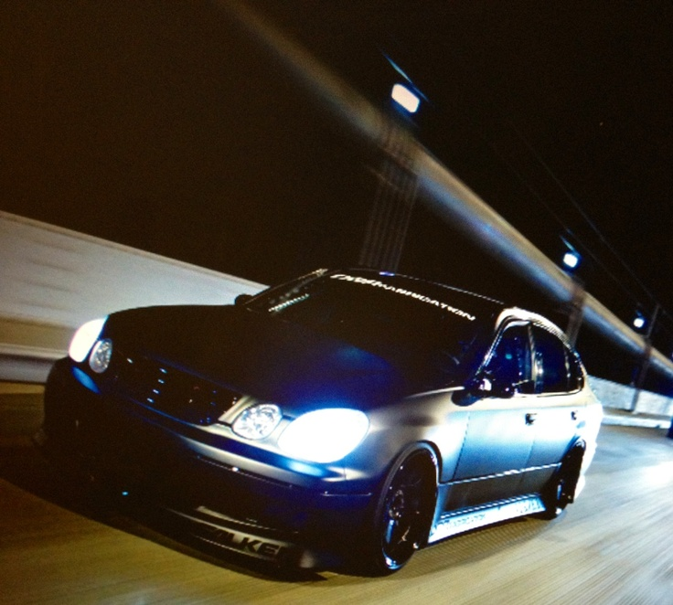 Matt black Lexus Gs300