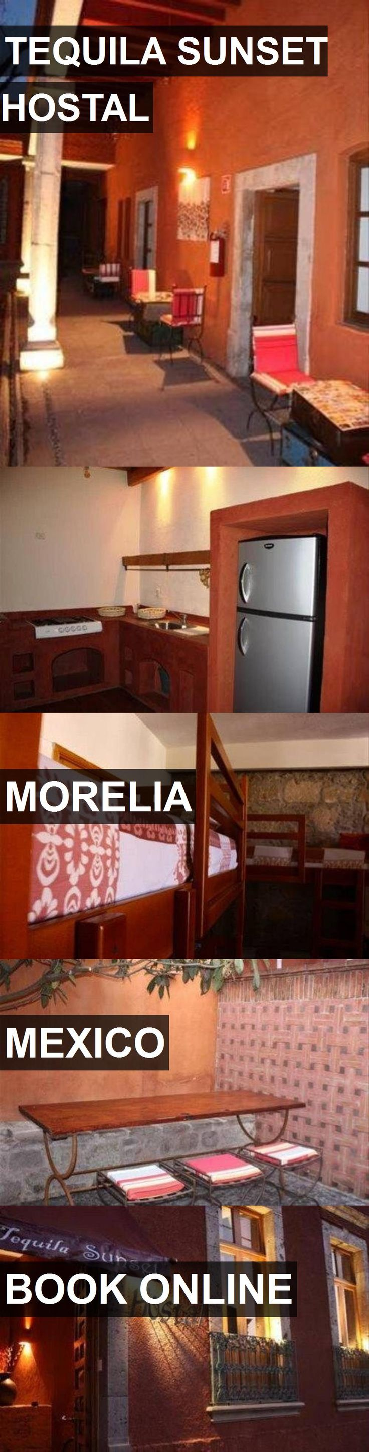 Hotel TEQUILA SUNSET HOSTAL in Morelia, Mexico. For more information, photos, reviews and best prices please follow the link. #Mexico #Morelia #TEQUILASUNSETHOSTAL #hotel #travel #vacation