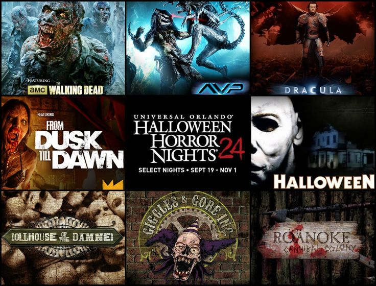 complete insiders guide to halloween horror nights 2014 at universal orlando - 2017 Halloween Themes