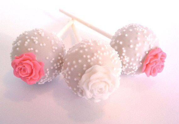 cake pop decorating | ... guests than these pretty cake pops by Poppies Cake Pops and Cupcakes