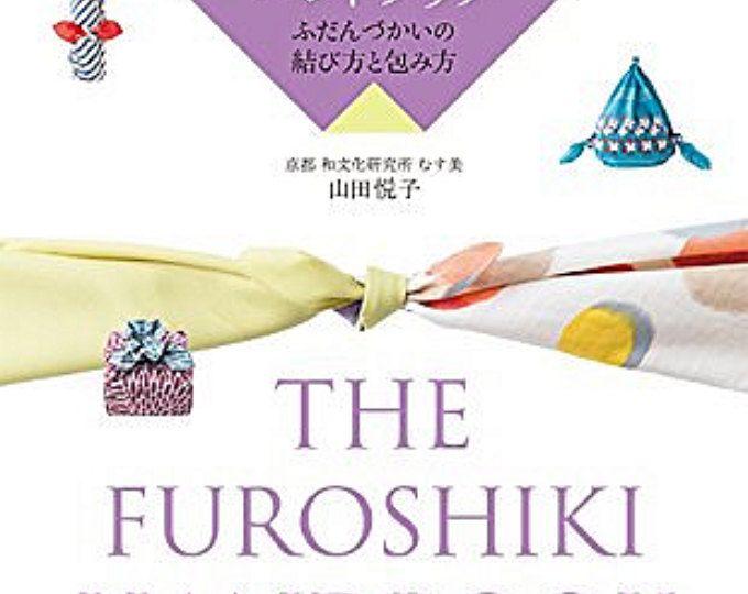 El manual de Furoshiki japonés envoltura de regalos - inglés y japonés libro