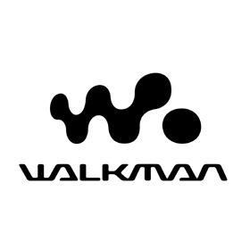 WALKMAN SONY ウォークマンのロゴ:未来へつなげるデザイン   ロゴストック