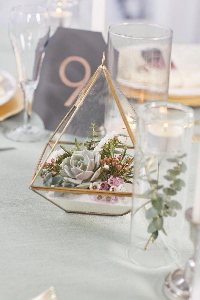 Terrarium Mixed Florals Wedding Floral Centerpieces Wedding Centerpieces Cheap Wedding Table Centerpieces