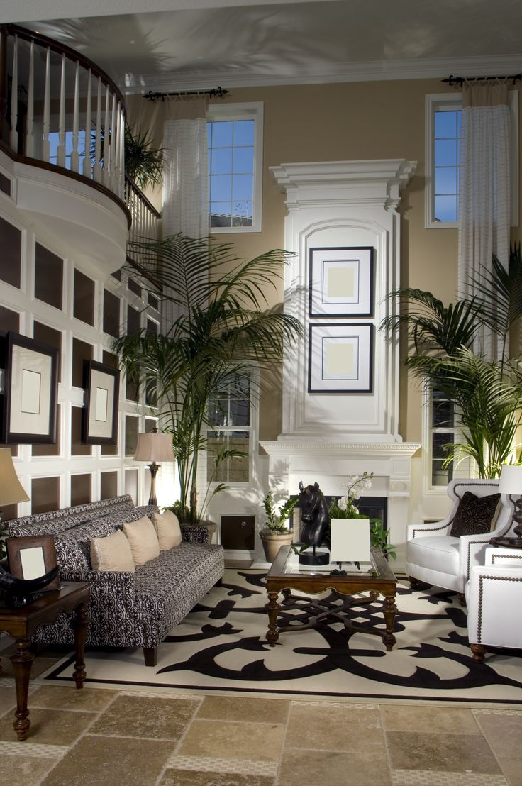 Casual Elegant Living Room: 426 Best Double Story Room Images On Pinterest