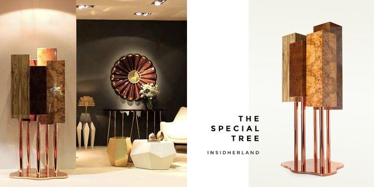 Golden interior design - Insidherland. Find it on unikstore.com. #unikstore #shop #golden #home #decor