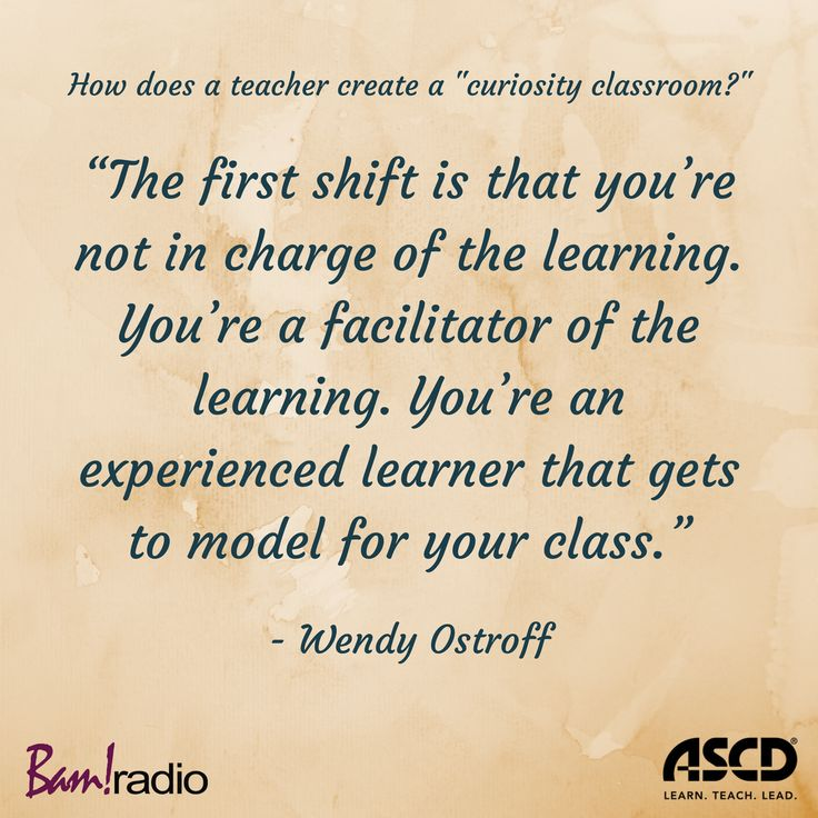 """What is a """"curiosity classroom"""" and how do you create one? Learn how on this podcast."""