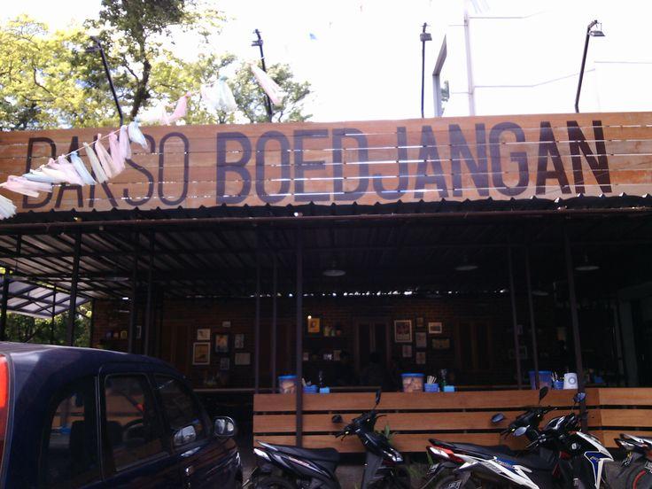 Bakso Boedjangan di Bandung, Jawa Barat