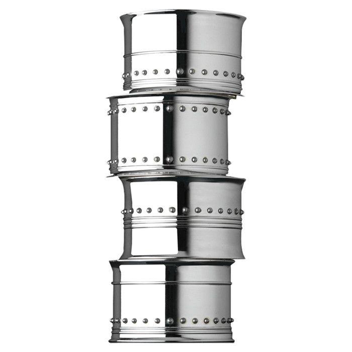 Vera Wang Grosgrain Napkin Ring (Set of 4)