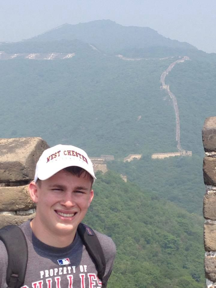 WCU junior, Steve Algeo,  representing WCU at the US-China student summit in Shanghai China! #summerpride #rampride #wcugoesglobal