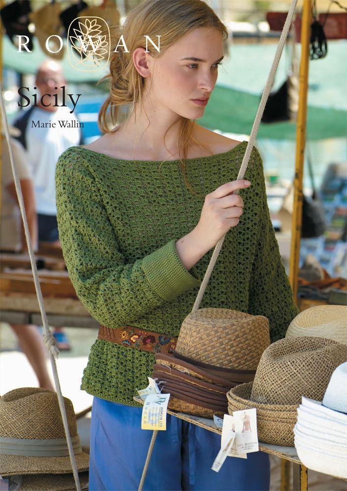 289 best Crochet Women's Sweaters images on Pinterest   Crochet ...