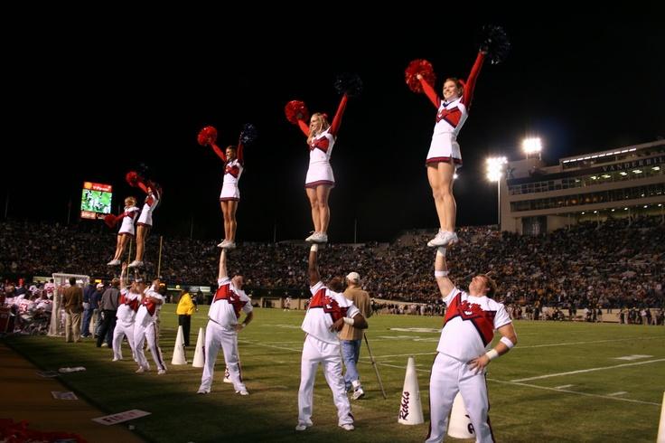 Ole Miss cheerleading