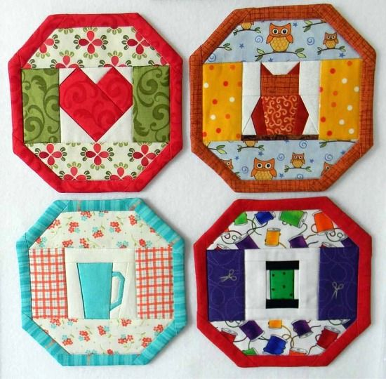 921 Best Images About Mug Rug Quilting On Pinterest