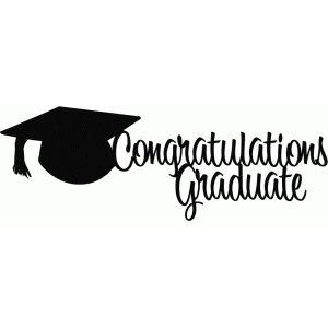 Silueta tienda de diseño - Vista Diseño # 42050: Graduado de la enhorabuena