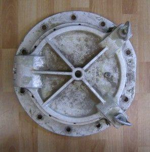 Vintage metal porthole made by ALCAN