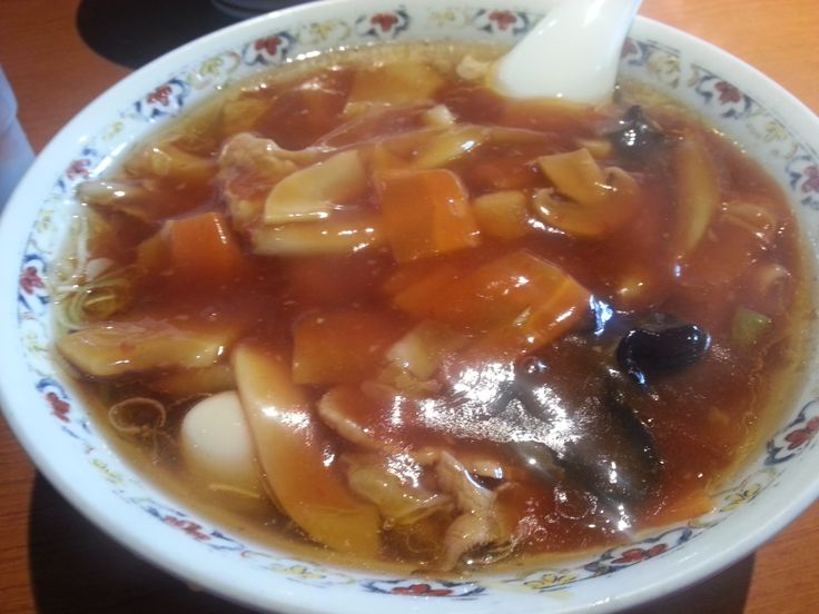 桜木屋、広東麺うまし!