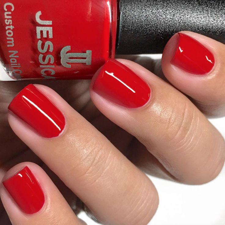 Velvet Fantasy > Red manicure > Jessica Cosmetics