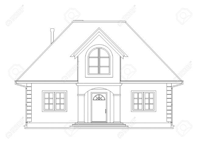 Captivating House Drawing
