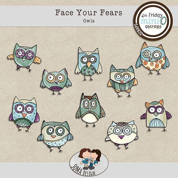 SoMa Design: Face Your Fears - Owls