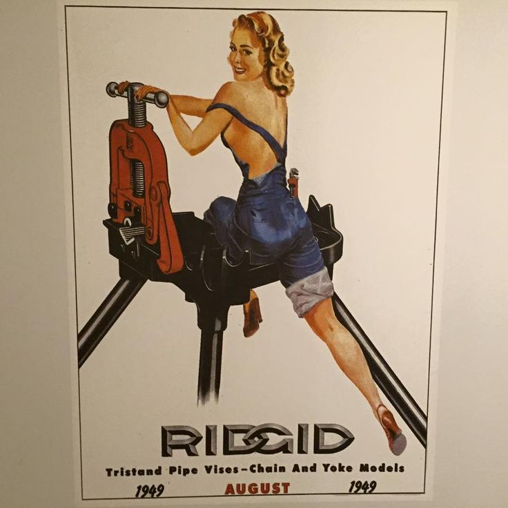 George Petty Pin Up Girls: 76 Best Ridgid Tool Calender Images On Pinterest