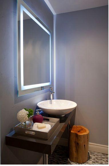 Iluminacao Espelho Estilo De Banheiro Decoracao Banheiro