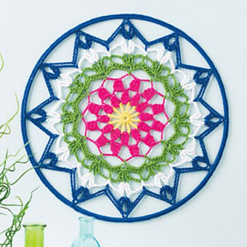 Ravelry: Mandala Wall Art pattern by Jennifer E. Ryan, for sale