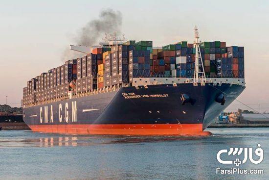 بزرگ ترین کشتی باری جهان