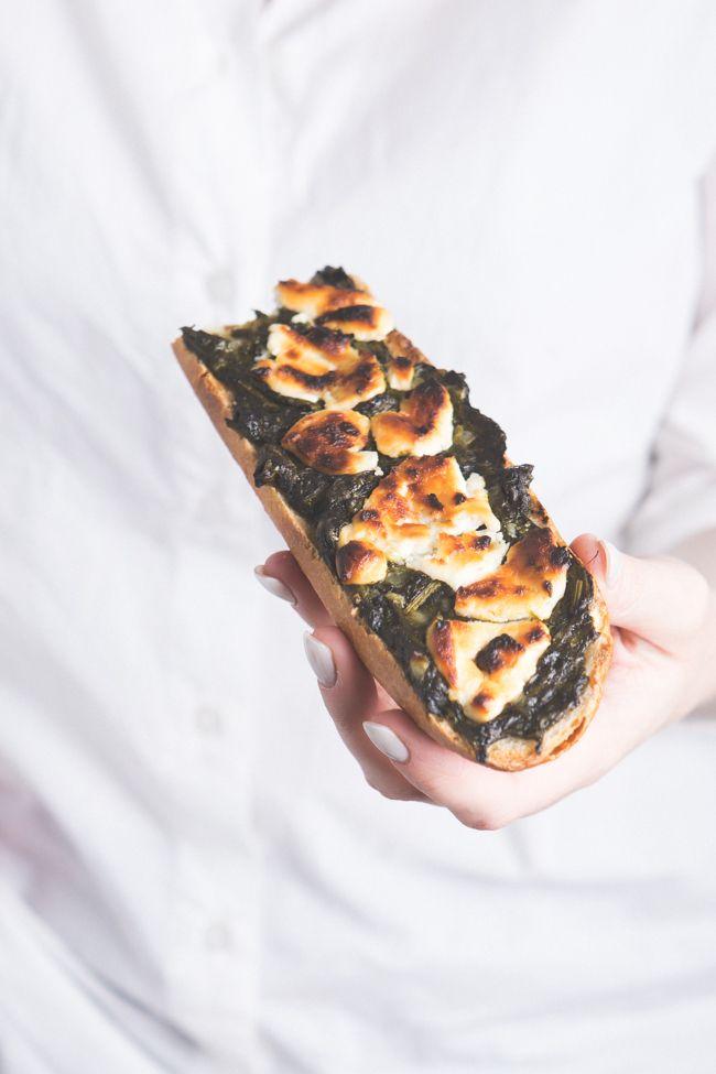 Zapiekanki ze szczawiem i kozim serem » Kasza manna - Blog kulinarny ze zdjęciami potraw.