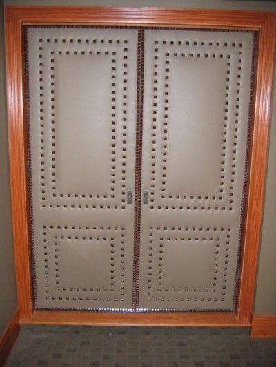 12 Best Upholstered Doors Images On Pinterest Cupboard