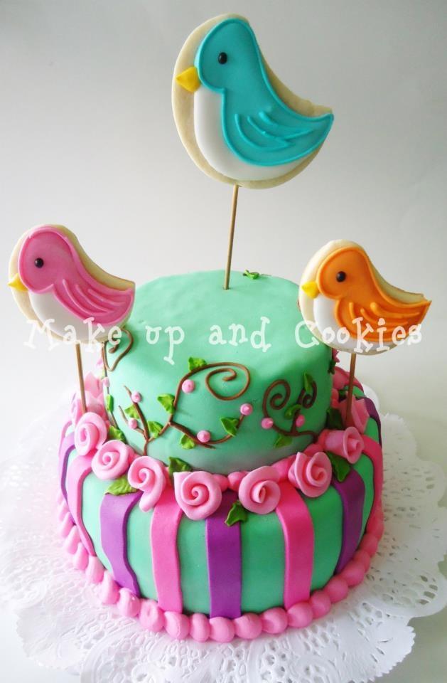 Hermosa torta para mi hija adolescente cosas hermosas - Bizcocho cumpleanos para ninos ...