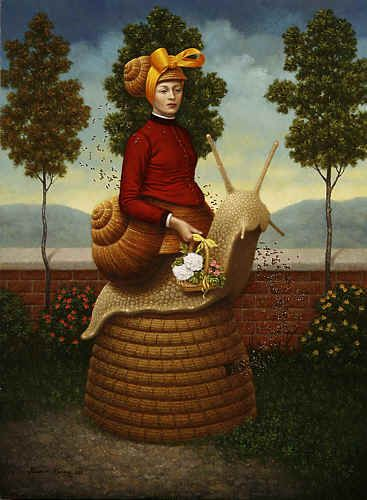 The Bee Keepers Wife by Steven Kenny.